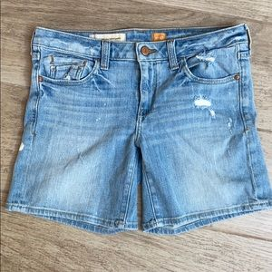 Pilcro and the Letter press Anthropologie shorts